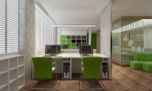 办公室设计色彩搭配可依据这4大点抉择