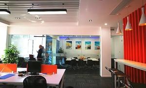 简约现代的办公室装修风格